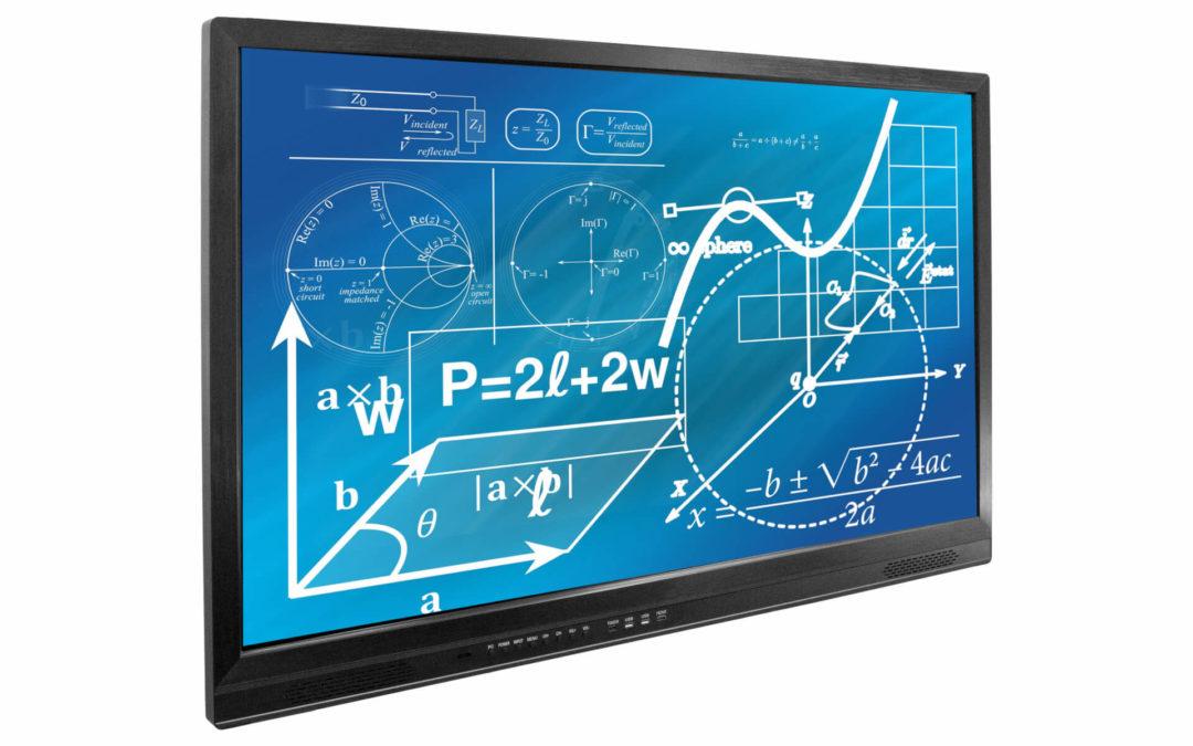 Monitor interaktywny IDBoard 65 Android 4K z wbudowanym komputerem OPS